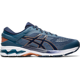 asics Gel-Kayano 26 Scarpe Uomo, grand shark/peacoat